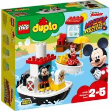 LEGO® DUPLO® 10881 Mickys Boot, 28 Teile