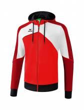 Trainingsjacke mit Kapuze Erima Teamline Premium One 2.0 Farbe: rot/weiß/schwarz