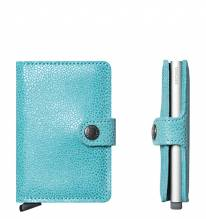Secrid Credit Card Protector Mini Wallet Glamour Azur Kreditkartenbox MG-Azur