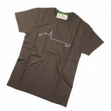 Schloß Ort T-Shirt, Herrn, Baumwolle, Farbe: olive, Bei Lederbekleidung Paschinger kaufen