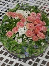Blumen Geburtstagstorte