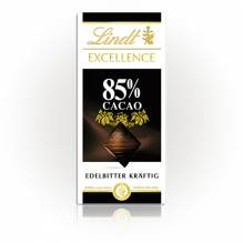 Lindt 'Excellence 85%', 100g