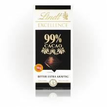 Lindt 'Excellence 99%', 50g