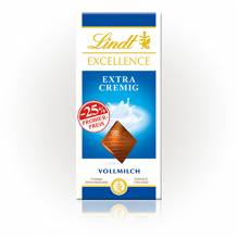 Lindt 'Excellence Extra Cremig' (Aktion), 100g