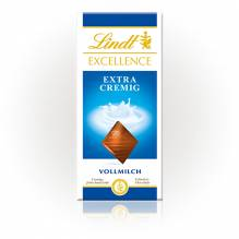 Lindt 'Excellence Extra Cremig', 100g