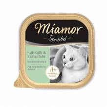 Miamor Sensible Kalb + Kartoffel 16x100g