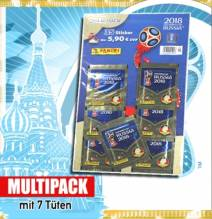 FIFA World Cup Russia 2018 Sticker-Multipack