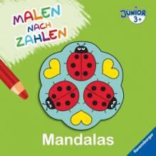 Ravensburger 27675 Malen nach Zahlen junior: Mandalas