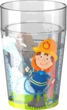 HABA Glitzerbecher Feuerwehr