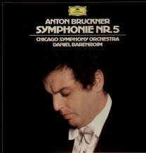 Daniel Barenboim, Chicago SO, Bruckner - Symphonie Nr.5 Box 2 LP