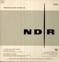 Schmidt-Isserstedt, NDR 2 LP, Beethoven Sinfonie Nr.9, Brahms op.102