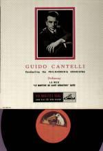 Guido Cantelli - ALP 1228 ED 1 LP, Debussy - Ma Mer, Martyre St.Sebastien