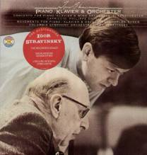 Isaac Stern, Ph. Entremont - 2 LP, Stravinsky - Violin, Piano Concerto