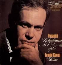 Leonid Kogan , Wasilij Nebolsin, Paganini - Violinkonzert Nr.1 - LP