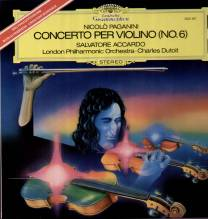 Salvatore Accardo, Ch. Dutoit, Paganini - Violinkonzert No.6 LP