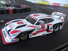 23858 Carrera Digital 124 Ford Capri Zakspeed turbo Würth Zakspeed Team No. 2