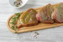 marinierte Grillspezialitäten: Thunfischfilet mit Knoblauch, 2 Stück ca. 500 g
