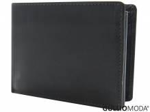 GULLIOMODA® Geldbörse im Querformat (LF102) Dunkelbraun