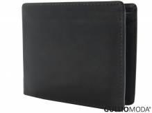 GULLIOMODA® Geldbörse im Querformat (LF101) Dunkelbraun