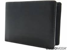 GULLIOMODA® Geldbörse im Querformat (LF3331) Dunkelbraun