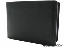 GULLIOMODA® Geldbörse im Querformat (LF3331) Schwarz