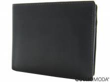 GULLIOMODA® Geldbörse im Querformat (LF12123) Dunkelbraun