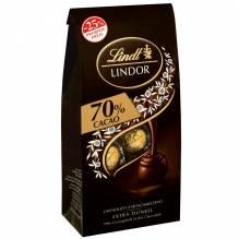 Lindt 'Lindor Kugel Beutel Dark 70%' (Aktion), 136g