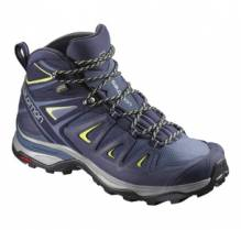 Salomon Damen Trekkingschuh X Ultra 3 Mid W GTX L39869100 Farbe: crown blue/evening blue/sunn