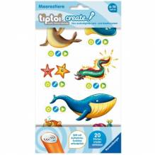 Ravensburger 9091 tiptoi® CREATE Sticker Meerestiere