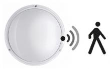 LED Deckenleuchte mit Sensor Platax