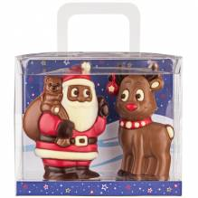 Weibler 'Geschenkpackung Weihnachtsmann mit Rentier', 150g