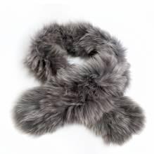 Schal, Fox, Silverfox, 100% natur, bei Lederbekleidung Paschinger kaufen