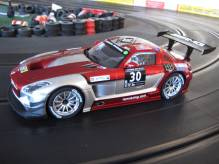 23864 Carrera Digital 124 Mercedes Benz SLS  AMG GT3 24h von Dubai 2015 Ram Racing No. 30