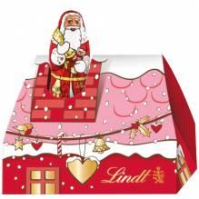 Lindt 'Santa im Mini-Schornstein' rot, 62g