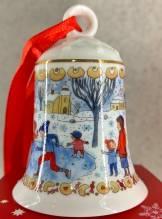 Hutschenreuther Weihnachtsglocke H: 7cm