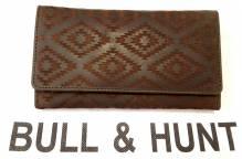 BULL & HUNT Portemonnaie 'Rhombus' - Damen-Geldbörse