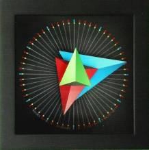 CLEVER CLOCK - 'Triangle M' - Wand- und Tischuhr