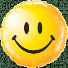 Folienballon Smiley ca. 47cm