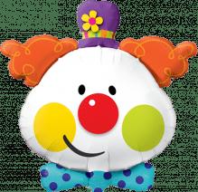 Folienballon Clown ca. 90cm