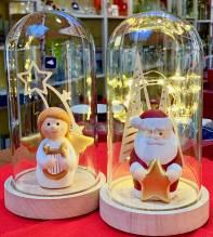 Weihnachtsmann mit Beleuchtung, Weihnachtsdeko