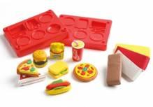 Radierer Studio Fast Food