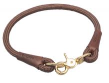 Hundehalsband Artemis Braun, Länge 45cm