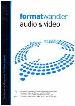 Formatwandler Audio & Video, 1 DVD-ROM