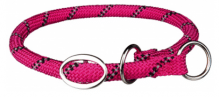 Sporty Rope Zug-Stopp-Halsband Fuchsia, S-M