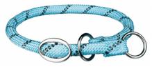 Sporty Rope Zug-Stopp-Halsband Blau, L