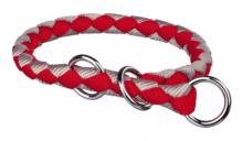 Cavo Zug-Stopp-Halsband Rot/Silber, S-M