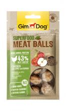 Superfood Meat Balls Huhn mit Apfel und Qinoa