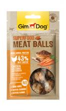 Superfood Meat Balls Huhn mit Karotte und Leinsamen