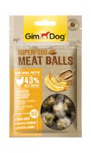 Superfood Meat Balls Huhn mit Banane und Sesam