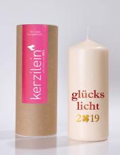 Kerze - GlÜCKSLICHT 2019